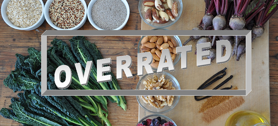 Top 8 Overrated 'Healthy Foods'