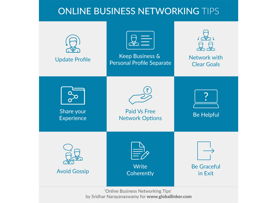 Online Business Networking Tips