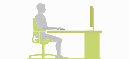 5 Ergonomic Tips for Desk Jobs