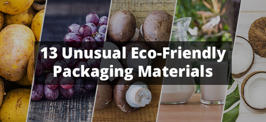 13 unusual materials used in eco-friendly packaging