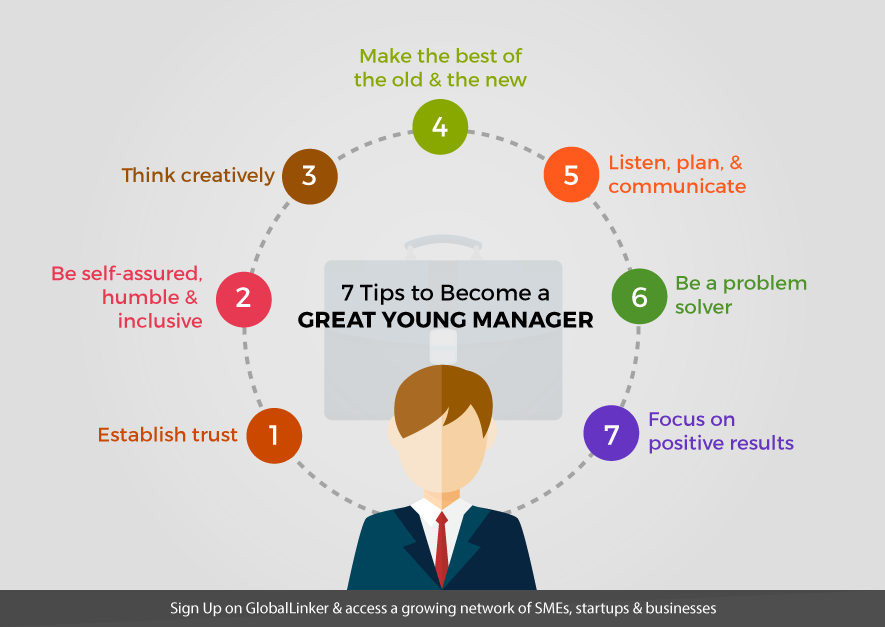 7 tips to become a great young manager