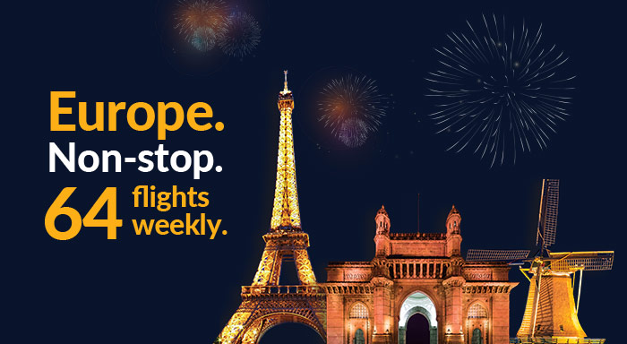 Jet Airways offers enhanced connectivity to Europe in partnership with Air France-KLM