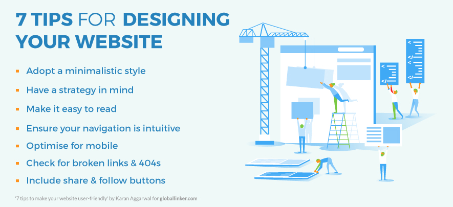 7 tips to make your website user-friendly