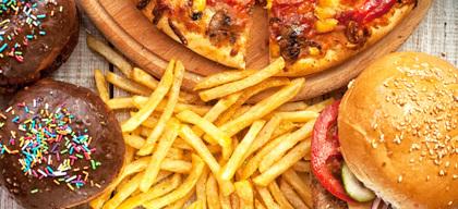 Say no to junk food & increase productivity