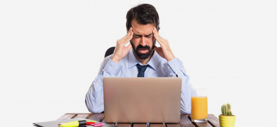 Do you get angry at work?