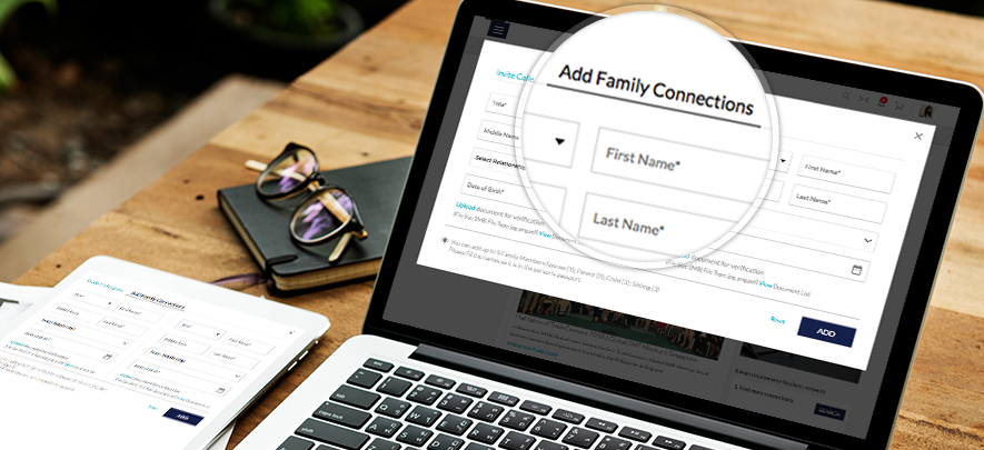 Add your family members on GlobalLinker & save 10% on every family trip