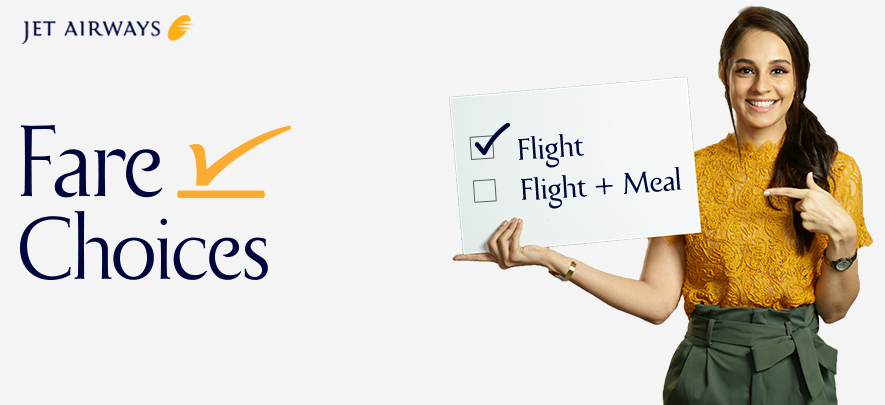 Customise your travel experience with Jet Airways 'Fare Choices'