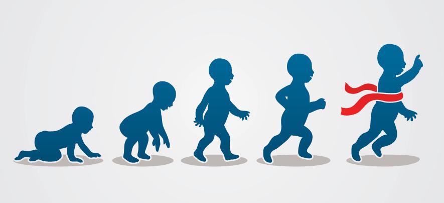 3 บทเรียนธุรกิจที่ได้จากทารกวัยหัดเดิน