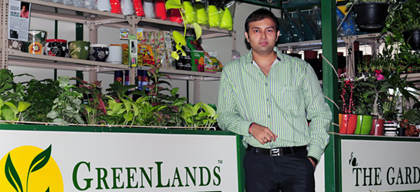 Third generation entrepreneur makes horticulture readily accessible & envisages a greener India