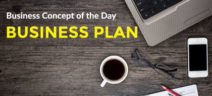 Business Plan - Business concept of the day
