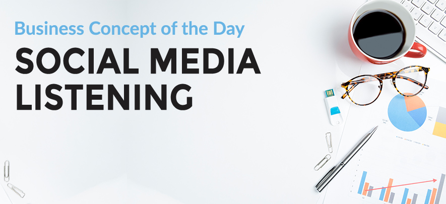 Social Media Listening - Business concept of the day | Articles