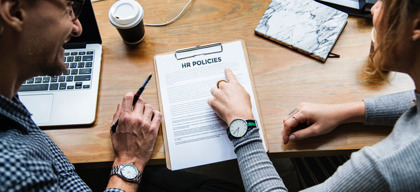 How do HR Policies help organisational development?