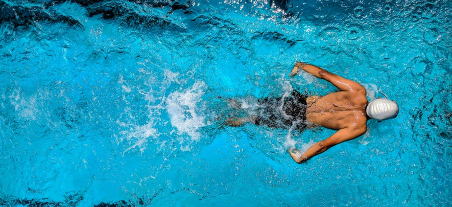 Swimming and running a business: Not so different