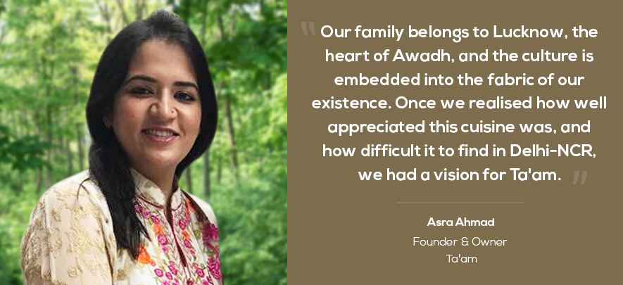 Entrepreneur brings authentic Awadhi food to Delhi-NCR