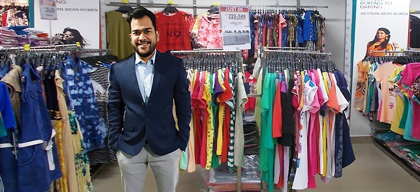 Bringing big city fashion retail to the smaller towns of north & north-east India