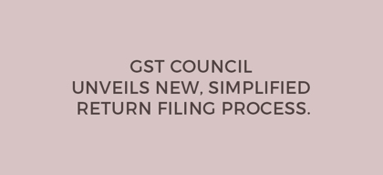 GST Council announces newer, simplified return filing process