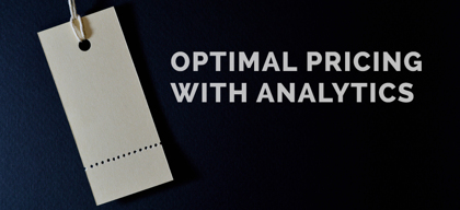 Optimal pricing with analytics
