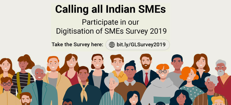 Inviting all SMEs of India: Take part in the Digitisation of SMEs Survey 2019