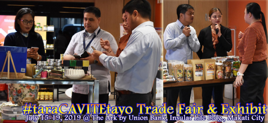 Entrepreneurs showcase their products at #taraCavitetayo Trade Fair & Exhibit