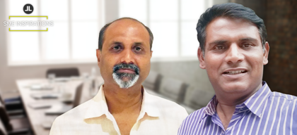 Uday Nadiwade & Rajesh Saraf, Founders, Befach 4x Private Limited