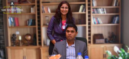 Anu Acharya & Subash Lingareddy, Founders, Mapmygenome India