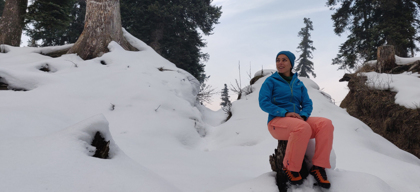 Third generation woman entrepreneur & mountaineer reimagines family business