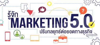 รู้จัก Marketing 5.0 ปรับกลยุทธ์ต่อยอดทางธุรกิจ