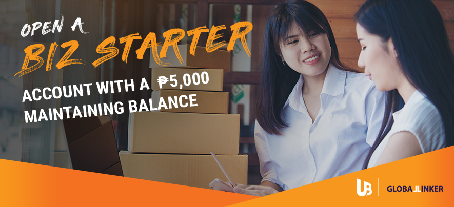 Introducing Biz Starter: Checking account for MSMEs, exclusively for UnionBank GlobalLinker members