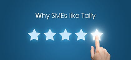 Why is Tally ERP 9 a favourite among SMEs?
