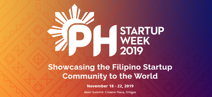 Be part of this year's Philippine Startup Week!
