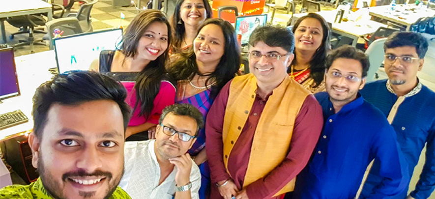 Celebrating Diwali with your work family