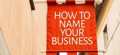 How to choose the perfect name for your business