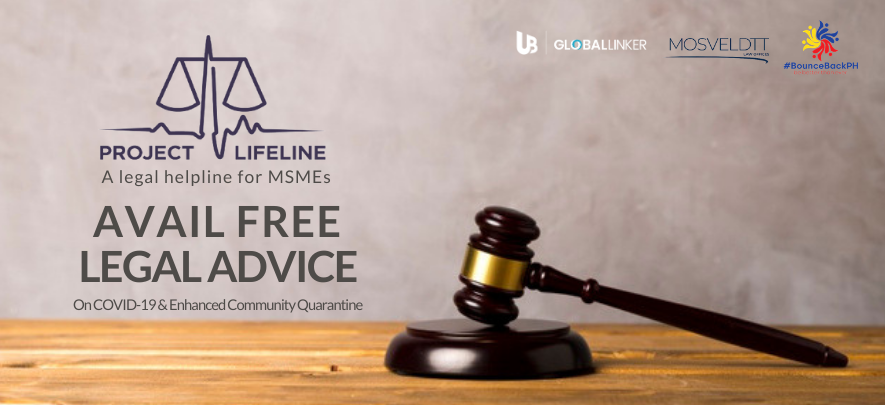 Project Lifeline: Free legal aid for MSMEs during ECQ