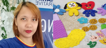 Woman entrepreneur starts with P500 to turn her hobby into a business