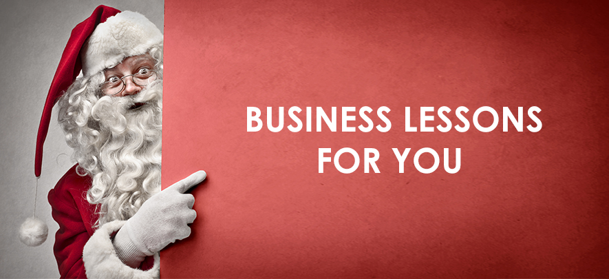 4 business lessons we can learn from Santa