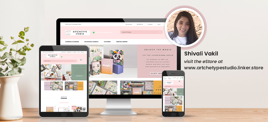 An entrepreneur's creativity finds a market with an online store