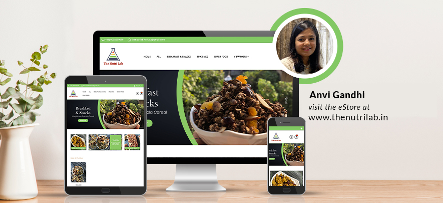An online store offering a perfect blend of nutritional and tasty snacks