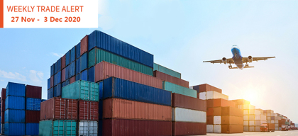 Weekly Trade Alert: 27 November – 3 December