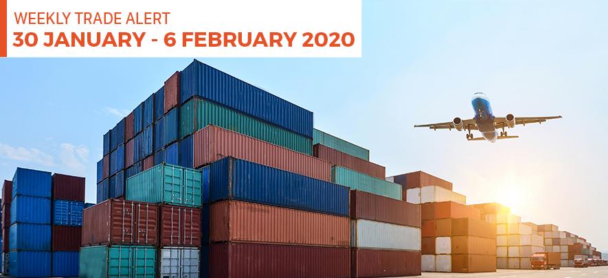 Weekly Trade Alert: 30 January - 6 February