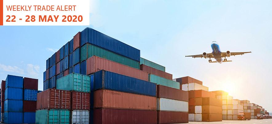 Weekly Trade Alert: 22 - 28 May