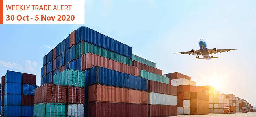 Weekly Trade Alert: 30 October - 5 November