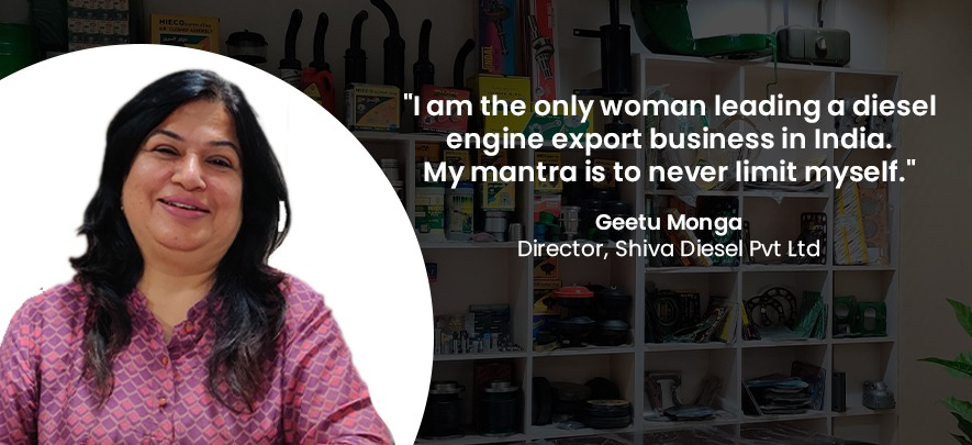 Overcoming personal loss, woman entrepreneur steers export business to success
