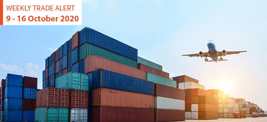 Weekly Trade Alert: 9 – 16 October