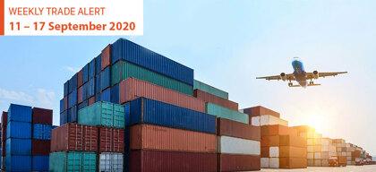 Weekly Trade Alert: 11 – 17 September