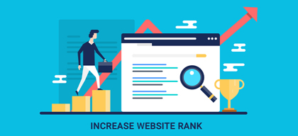 5 easy steps to increase your blog or website rank