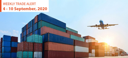 Weekly Trade Alert: 4 – 10 September