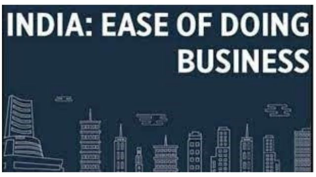 Indian states: ease of doing business