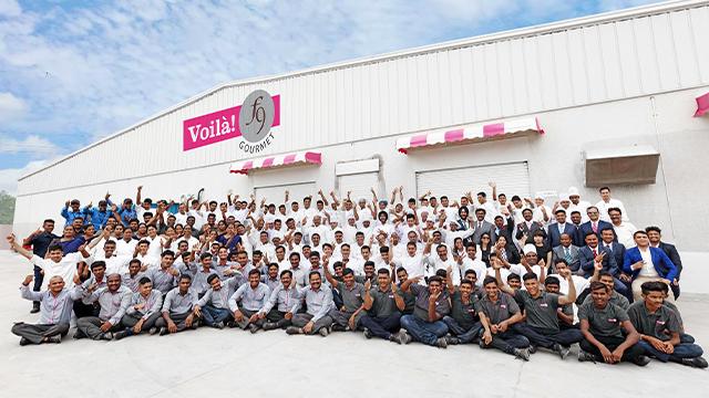 Voila F9 Gourmet team