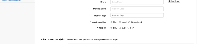 Product labels and product tags
