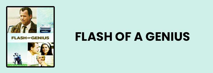 Flash of genius - Top 10 movies for entrepreneurs
